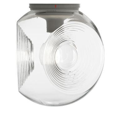 Luminaire - Appliques - Applique Eyes / Plafonnier - Verre - Ø 35 cm - Fabbian - Transparent - Verre soufflé