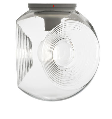 Illuminazione - Lampade da parete - Applique Eyes / Plafoniera - Vetro - Ø 35 cm - Fabbian - Trasparente - vetro soffiato
