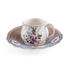 Hybrid Djenne Coffee cup - / Coffee cup + saucer set by Seletti