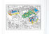 Football Colouring poster - / 100 x 70 cm by OMY Design & Play