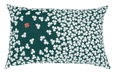 Coussin d'extérieur Trèfle / 68x44 cm - Fermob cèdre en tissu