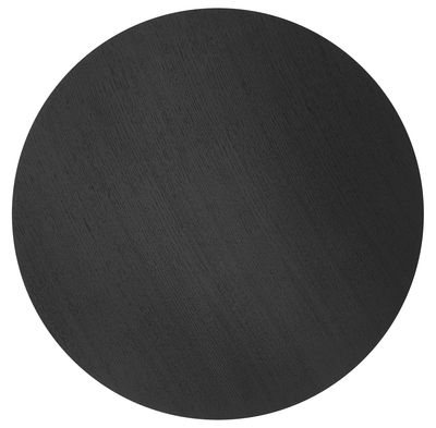 Couvercle pour corbeille Wire / Large - Ø 60 cm - Ferm Living noir en bois