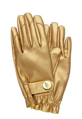 Outdoor - Pots & Plants - Garden gloves - / Medium Size by Garden Glory - Gold - Brass, Polyurethane