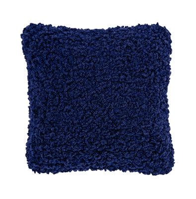 Boucle Kissen / Wolle - 45 x 45 cm - Tom Dixon - Elektrischblau