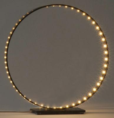 Luminaire - Lampes de table - Lampe de table Micro / LED - Ø 30 cm - Le Deun - Noir - Acier, Aluminium