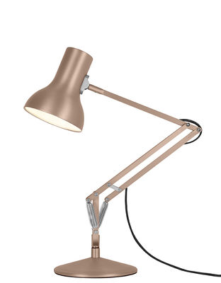 Lampe de table Type 75 Mini / Metallic - H 50 cm - Anglepoise cuivre/métal en métal