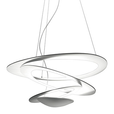 Lighting - Pendant Lighting - Pirce Mini Pendant - Halogen by Artemide - White - Varnished aluminium