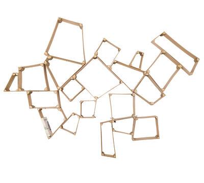Arredamento - Scaffali e librerie - Scaffale Split Boxes - set 3 casiers : small, medium, large di Skitsch - Legno naturale - Compensato, Faggio
