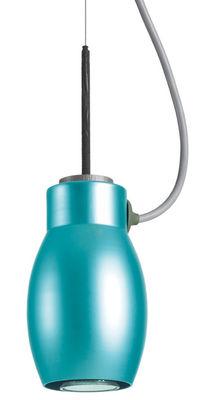 Luminaire - Suspensions - Suspension Blossom - Booky - Belux - Turquoise - Aluminium