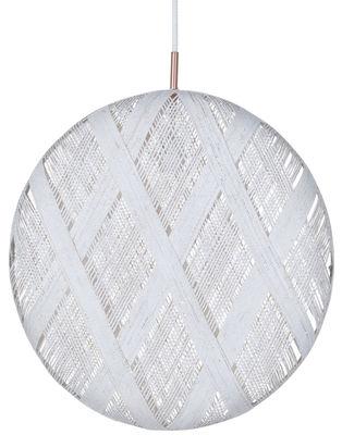 Suspension Chanpen Diamond / Ø 52 cm - Forestier blanc en tissu