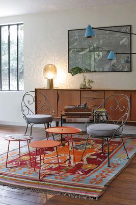 Tavolo Basso Di Design Con Piano Amovibile.Tavolino Cocotte L 55 X H 43 5 Cm Piano Rimovibile Di Fermob