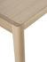 Tavolo rettangolare Workshop - / Impiallacciato Rovere - 140 x 92 cm di Muuto