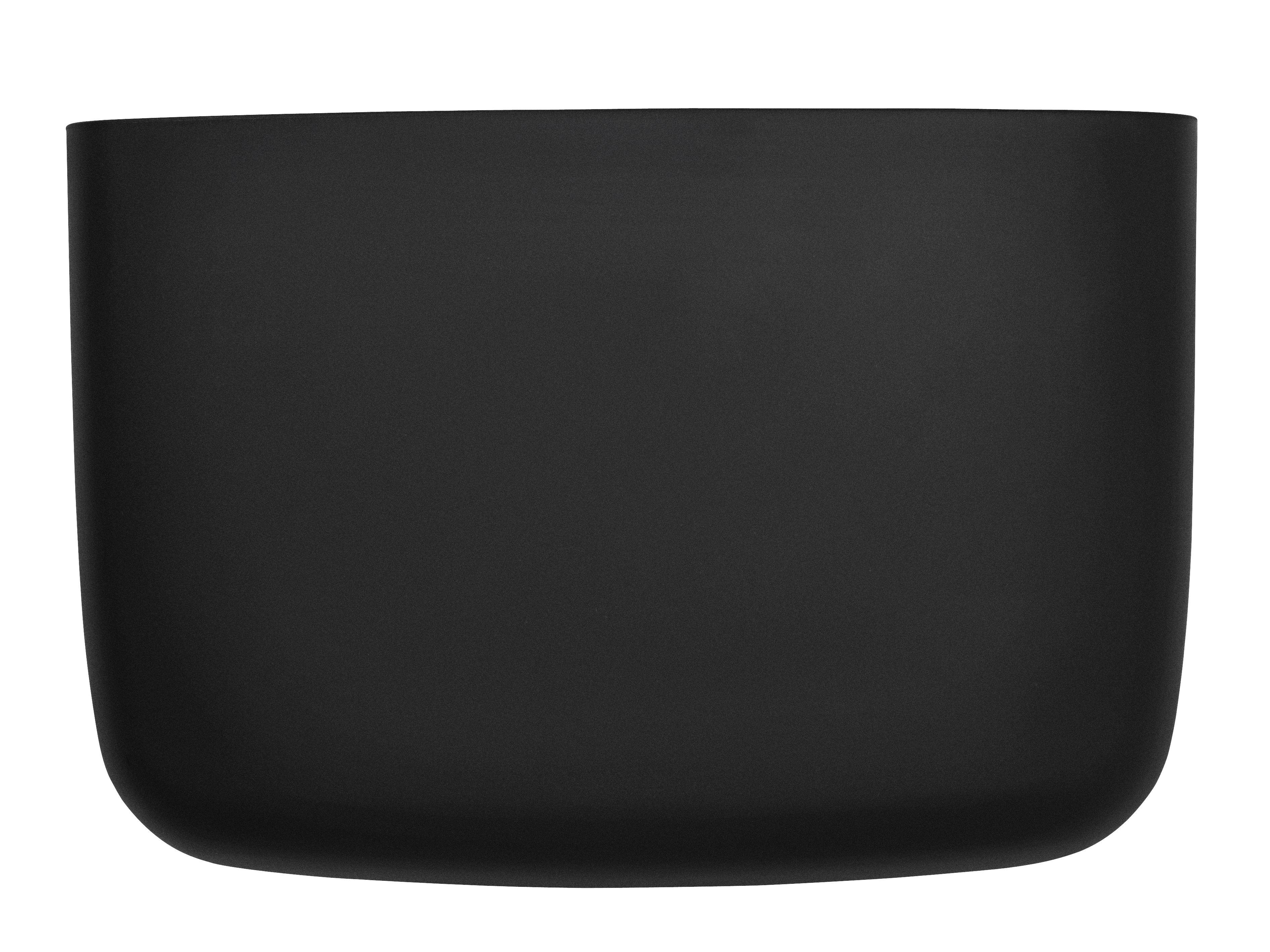 Dekoration - Für Kinder - Pocket 4 Wandablage / L 28 x H 19 cm - Normann Copenhagen - Schwarz - Polypropylen
