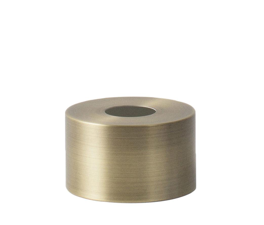 Luminaire - Suspensions - Abat-jour Disc / Pour suspension Collect - Ferm Living - Abat-jour Disc / Laiton - Métal plaqué laiton