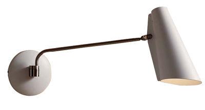 Applique avec prise Birdy / L 53 cm - Réédition 1952 - Northern blanc en métal