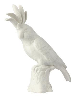 Décoration Cacatoès / Porcelaine - H 33 cm - Pols Potten blanc en céramique