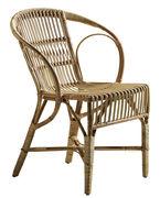 Chaise Wengler Réédition 1902 Sika Design naturel en fibre végétale