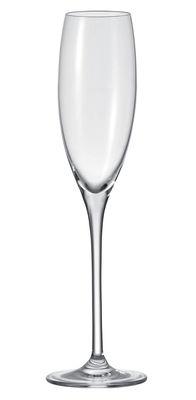 Flûte à champagne Cheers - Leonardo transparent en verre