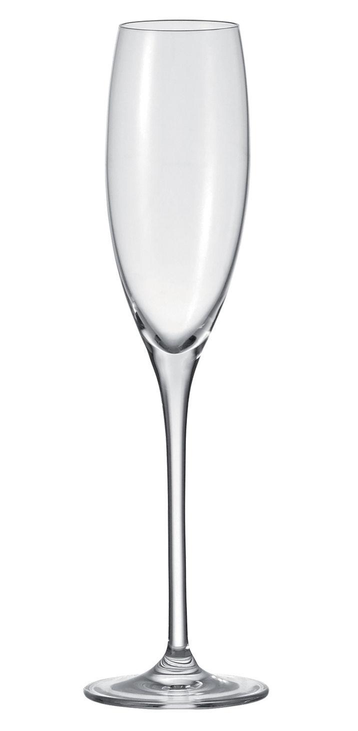 Tavola - Bicchieri  - Flûte da champagne Cheers di Leonardo - Trasparente - Vetro