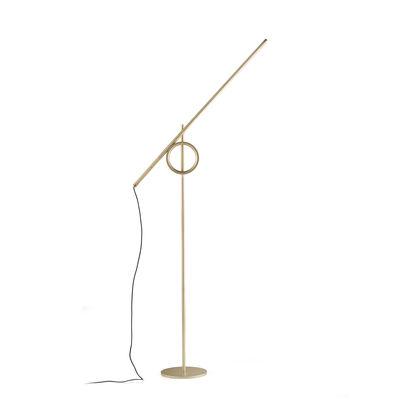 Liseuse Tangent Medium LED / Orientable - H 141 cm - Pallucco or en métal