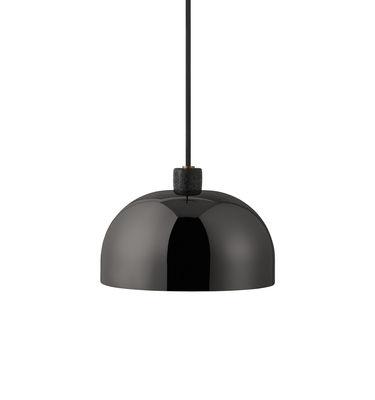Grant Pendelleuchte / Metall & Granit - Ø 23 cm - Normann Copenhagen - Schwarz,Gris tonnerre
