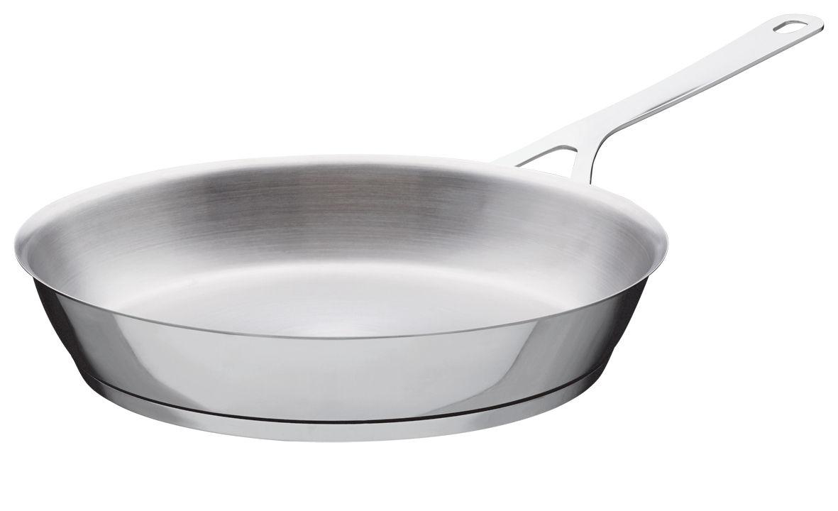 Küche - Pfannen, Koch- und Schmortöpfe - Pots and Pans Pfanne - A di Alessi - Ø 28 cm - rostfreier Stahl
