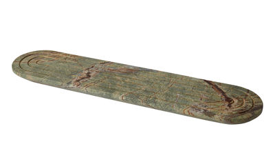 Tavola - Vassoi  - Piano/vassoio Rock Long - / Marmo - 60 x 14 cm di Tom Dixon - Lungo / Verde - Marmo