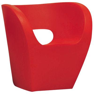 Arredamento - Mobili Ados  - Poltrona Little Albert di Moroso - Rosso - Polietilene