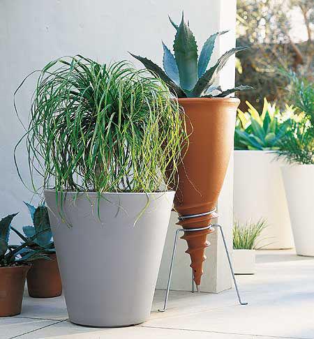 pot de fleurs new pot h 50 cm blanc serralunga made in. Black Bedroom Furniture Sets. Home Design Ideas