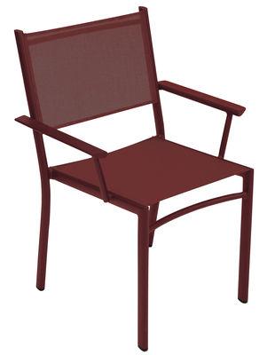 Costa Stapelbarer Sessel / mit Outdoor-Bespannung - Fermob - Pepper
