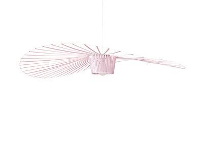 Luminaire - Suspensions - Suspension Vertigo Large / Ø 200 cm - Edition spéciale 5 ans - Petite Friture - Rose clair - Fibre de verre, Polyuréthane