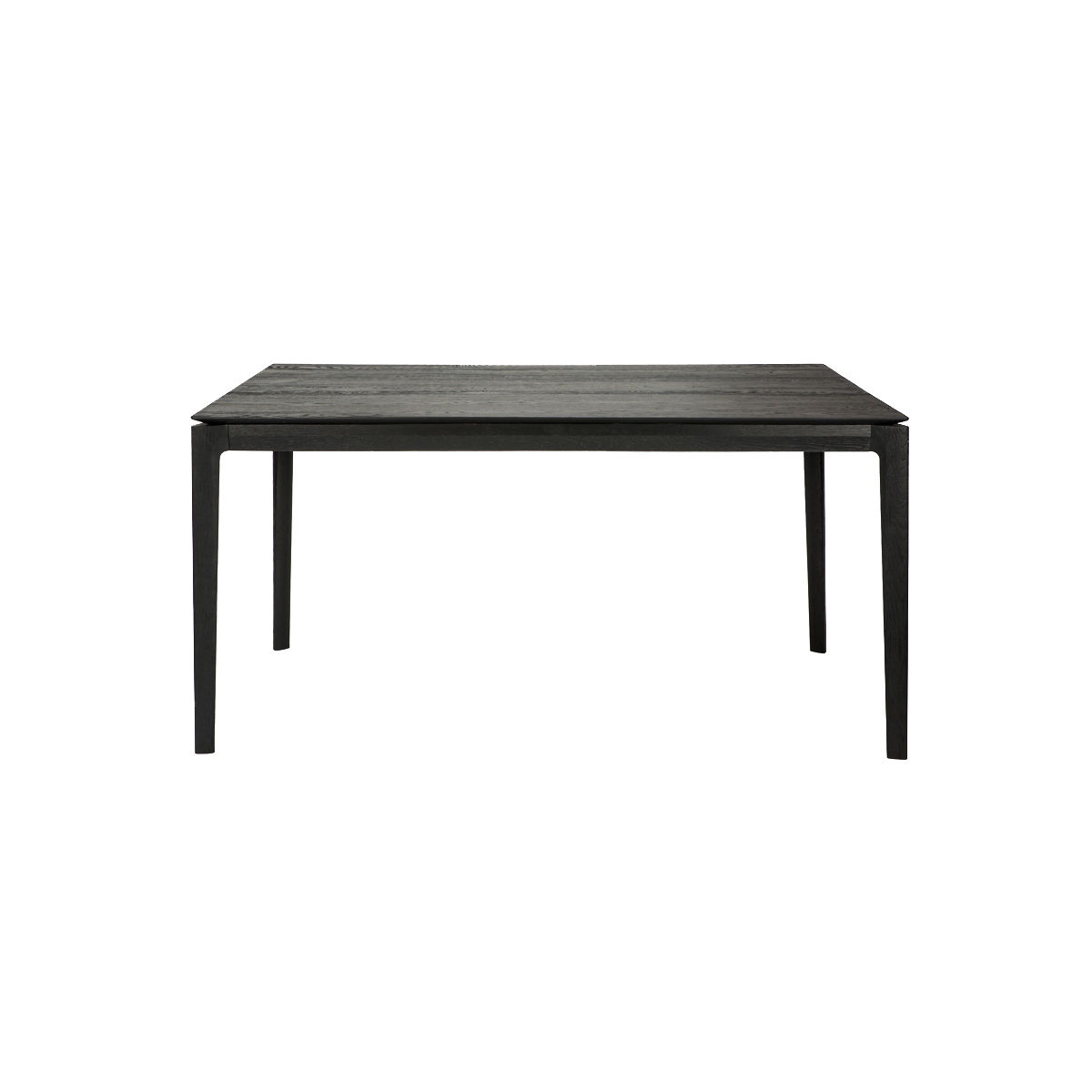 Table rectangulaire Bok / Chêne massif - 180 x 90 cm / 8 personnes - Ethnicraft noir en bois