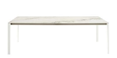 meilleur site web db947 1e467 Table rectangulaire Dehors / Effet marbre - 240 x 100 cm - Cinna