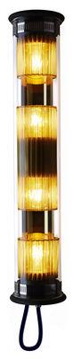 Applique d'extérieur In The Tube 120-700 / L 72 cm - DCW éditions or en métal/verre