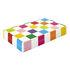 Rainbow Backgammon set - / Lacquered box by Jonathan Adler