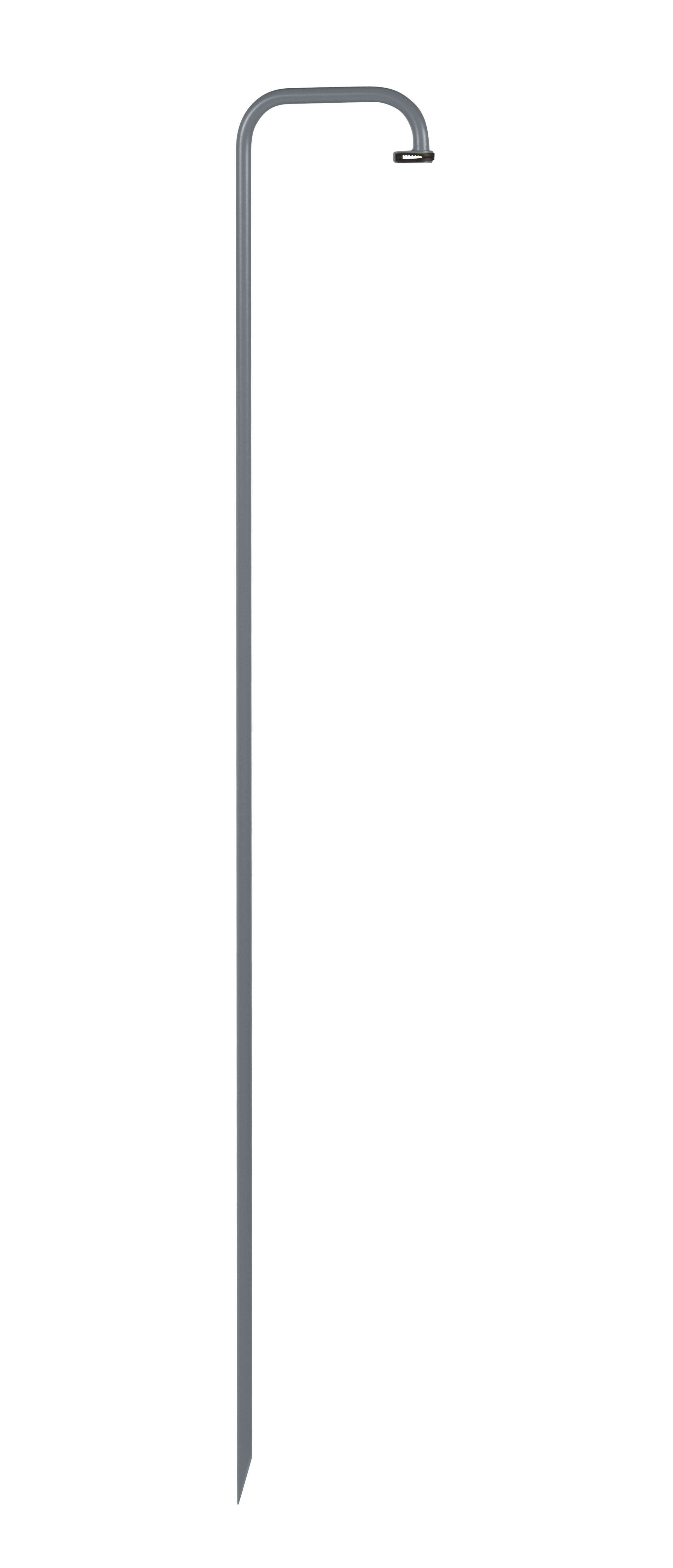 Lighting - Floor lamps - Base, legs - to plant in the ground for Balad lamps / H 159 cm by Fermob - Storm grey - Painted steel