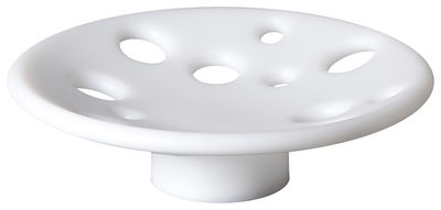 Tableware - Fruit Bowls & Centrepieces - Dots LED RGB Centrepiece by Slide - White - recyclable polyethylene