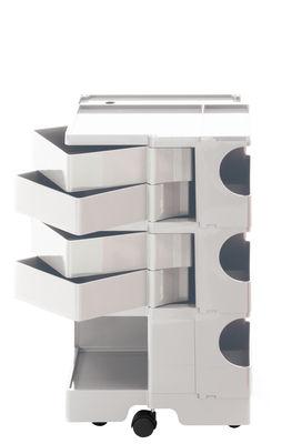Mobilier - Compléments d'ameublement - Desserte Boby / H 73 cm - 4 tiroirs - B-LINE - Blanc - ABS