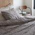 copripiumino 140 x 200 cm - / 140 x 200 cm - Percalle di cotone lavato di Au Printemps Paris