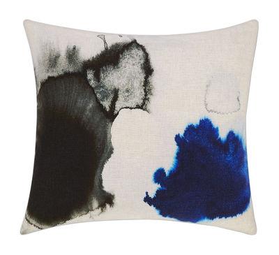 Blot Kissen / 60 x 60 cm - Tom Dixon - Blau,Schwarz