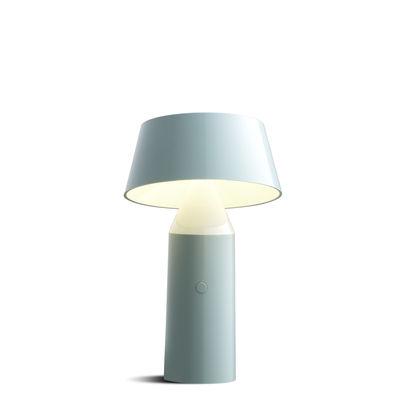 Bicoca Lampe ohne Kabel - Marset - Hellblau