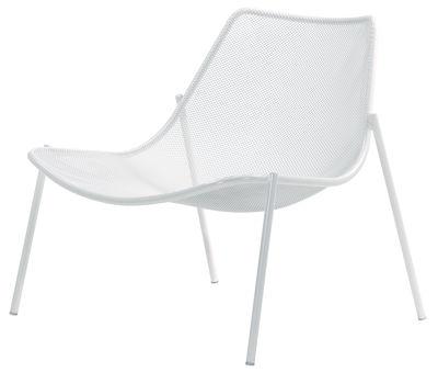 Round Lounge Sessel - Emu - Weiß