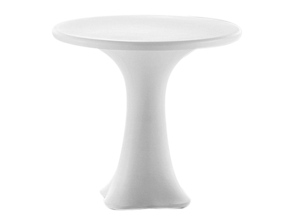 Furniture - Illuminated Furniture & Light UP Tables - Teddy Luminous table - / Ø 79 cm by MyYour - Blanc - lumineux - Polythene
