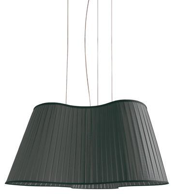 Lighting - Pendant Lighting - La Suspension Etoile Pendant - L 90 cm by Dix Heures Dix - Black - Polyester fabric, Steel wire