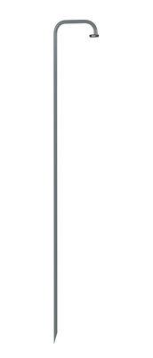Illuminazione - Lampade da terra - Piede - da piantare per lampade Balad / H 159 cm di Fermob - Grigio temporale - Acciaio verniciato