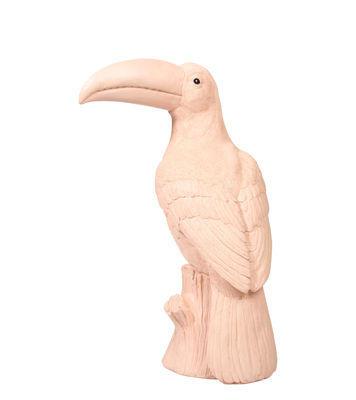 Decoration - Children's Home Accessories - Piggy bank - Toucan - H 33 cm by & klevering - Pink - Polyresin