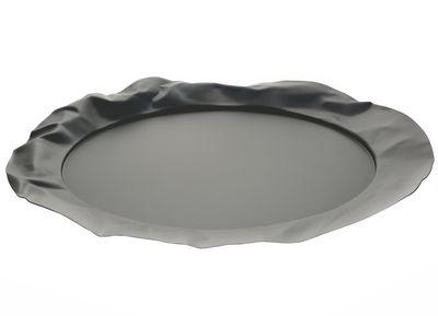 Plateau Foix / Ø 44 cm - Alessi noir en métal