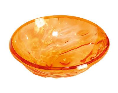 Saladier Moon / Coupe - Ø 45 cm - Kartell orange en matière plastique