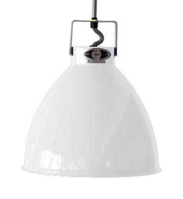 Suspension Augustin Small Ø 16 cm - Jieldé blanc brillant en métal