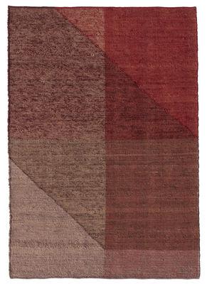 Tapis Capas 1 / 200 x 300 cm - Nanimarquina rouge en tissu